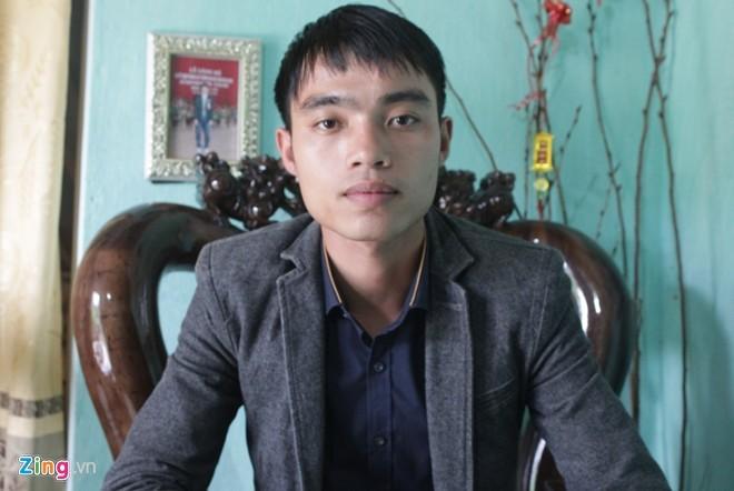 Chân dung ông chủ trẻ Trần Thanh Sơn. Ảnh: Phạm Hòa.