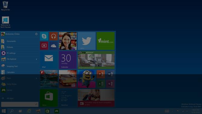 Bản thử nghiệm Windows 10 được Microsoft phát hành rộng rãi đến người dùng muốn trải nghiệm - Ảnh: WCCFTech
