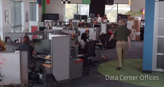 Lúc đầu, họ có thể trông giống như bất kỳ văn phòng khác của Google.