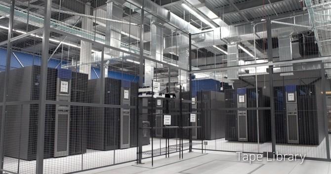 Google lưu trữ một bản sao của các dữ liệu quan trọng nhất trên băng kỹ thuật số trong một nơi gọi là 'Tape Library.'