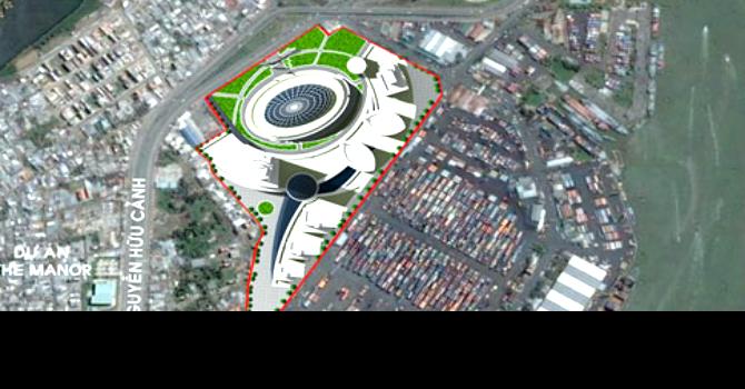 TP.HCM: Điều chỉnh quy hoạch kiến trúc khu phức hợp Tân Cảng Sài Gòn