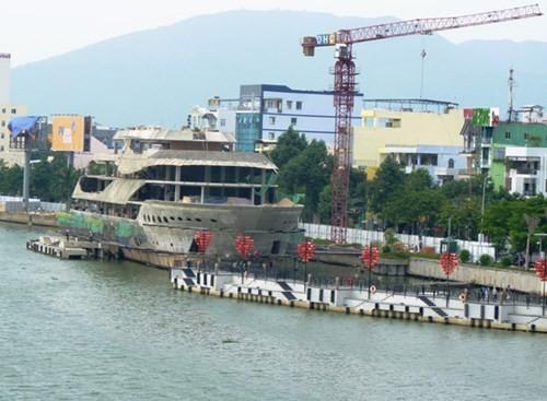 Một dự án đã xây dựng trên sông Hàn
