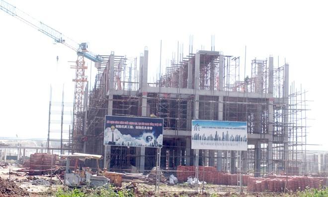 Doanh nghiệp Trung Quốc xây dựng khi chưa được giao đất