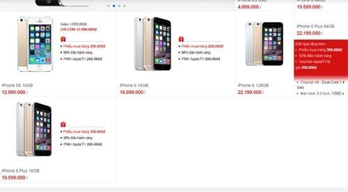 iPhone 5S, iPhone 6 trả bảo hành gây sốt thị trường di động - ảnh 2