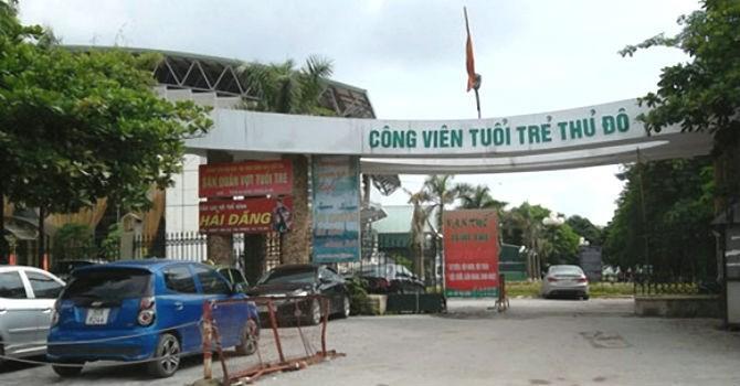 Hà Nội: Đổi chủ đầu tư, điều chỉnh quy hoạch Công viên Tuổi trẻ