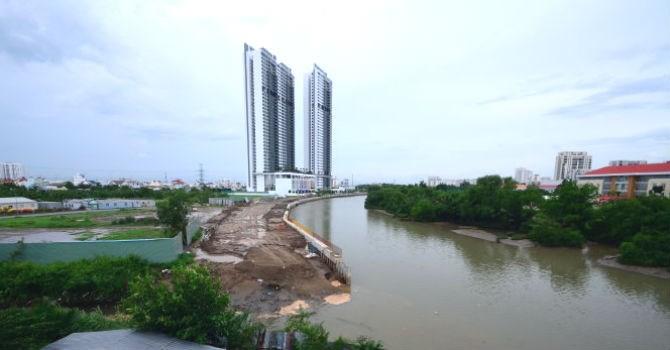 TP.HCM xử lý việc san lấp 3.000m2 rạch làm dự án Riviera Point