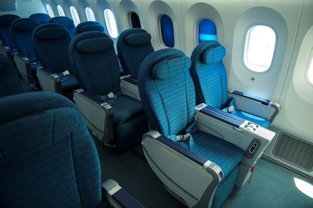 Hàng ghế phổ thông đặc biệt bao gồm 7 ghế tiện nghi, thoải mái.