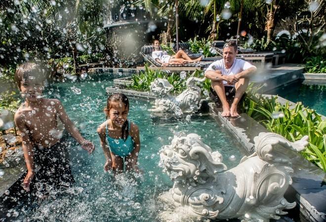 Không chỉ mang những dấu ấn về kiến trúc, nơi đây còn đạt giải khu nghỉ dưỡng tốt nhất tại châu Á về dịch vụ giải trí và ẩm thực năm 2014...
