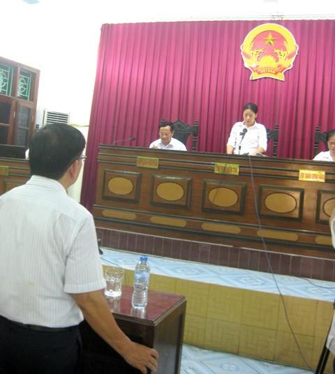 TAND TP. Thái Bình tuyên đền bù cho ông Phi 22,9 tỷ đồng
