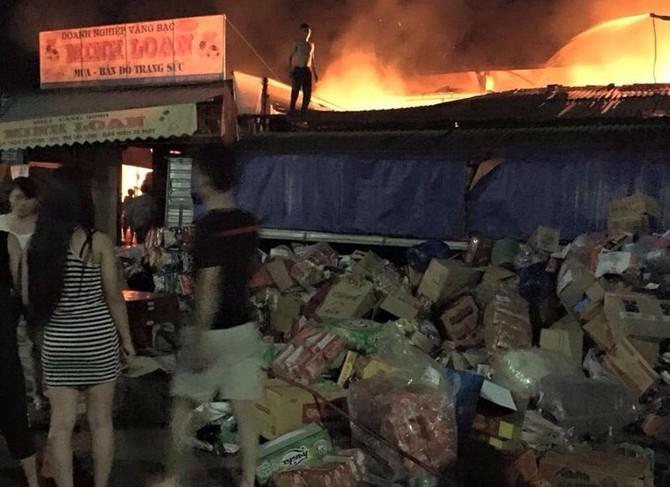 Cháy chợ Bộng; hà tĩnh