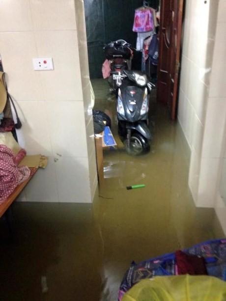 Mưa lớn xuyên đêm, người Hà thành thức trắng chạy lụt - ảnh 8