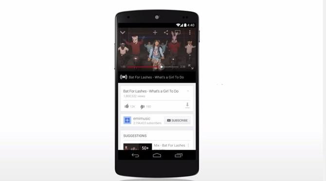 Tháng 2 năm 2014: Một nửa đầy đủ các quan điểm YouTube hiện nay trên thiết bị di động, và doanh thu điện thoại di động tăng 100% so với năm trước.