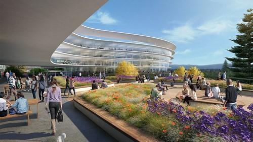 Choáng ngợp với khuôn viên làm việc thứ hai của Apple - ảnh 4