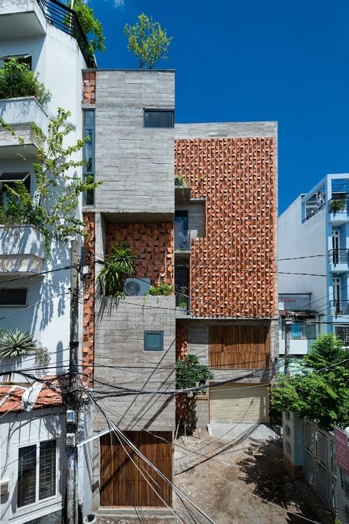Nhà đẹp trên mảnh đất có thế kỳ dị ở Sài Gòn - ảnh 5