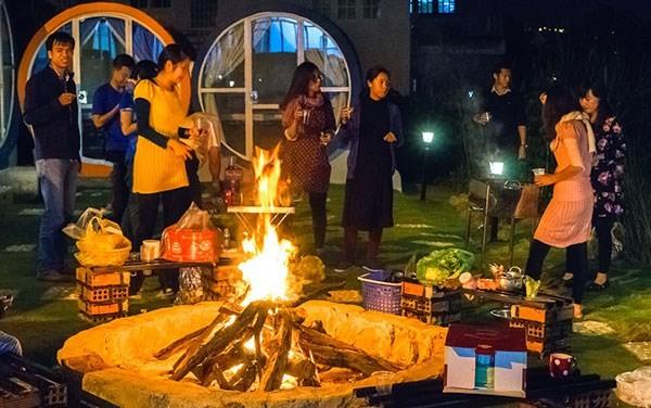 Khách sạn ống cống thu hút khách du lịch tới Đà Lạt