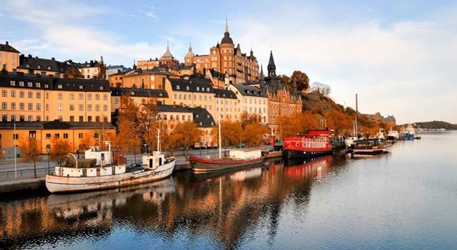 5. Thụy Điển: Quốc gia này có chỉ số khởi nghiệp và cơ hội cao nhất thế giới. Những thành phố xinh đẹp và khung cảnh như trong cổ tích khiến Thụy Điển là nơi đang ghé thăm một lần trong đời. Ảnh: Slh.