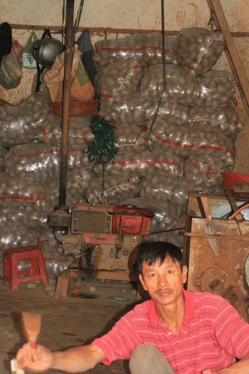 """Bất ngờ """"mở cửa"""" cho khoai tây Trung Quốc vào chợ nông sản Đà Lạt 3"""