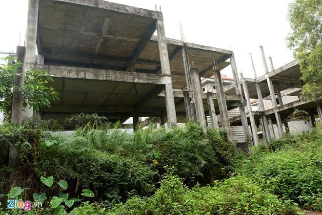 Biệt thự bỏ hoang tràn ngập khu đô thị Thiên đường Bảo Sơn