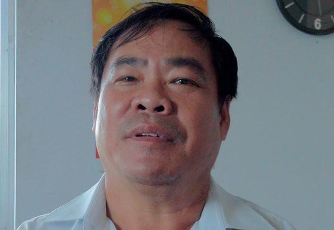 Ông Nguyễn Văn Cần, trưởng bến phà Vàm Cống, bị đình chỉ công tác và kiểm điểm trách nhiệm - Ảnh: Đ.Vịnh
