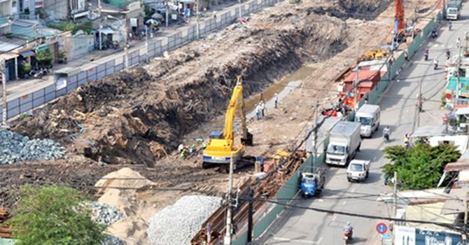 TP. HCM muốn chi thêm 1.200 tỷ đồng đào kênh đã lấp 15 năm