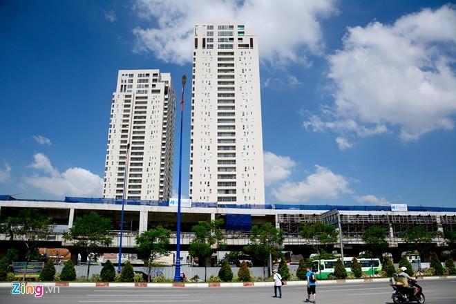 Dự án chen nhau quanh tuyến metro Sài Gòn