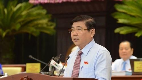 Ông Nguyễn Thành Phong làm Chủ tịch UBND TP.HCM - ảnh 1