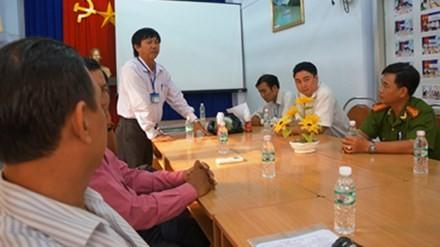 Cuộc họp tại Cục ATVSTP tỉnh Cà Mau ngày 16/12