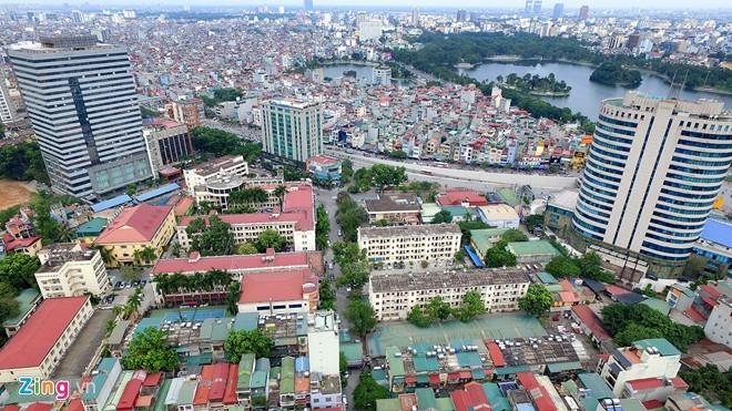 Toàn cảnh khu đất khách sạn Kim Liên sẽ mang đấu giá