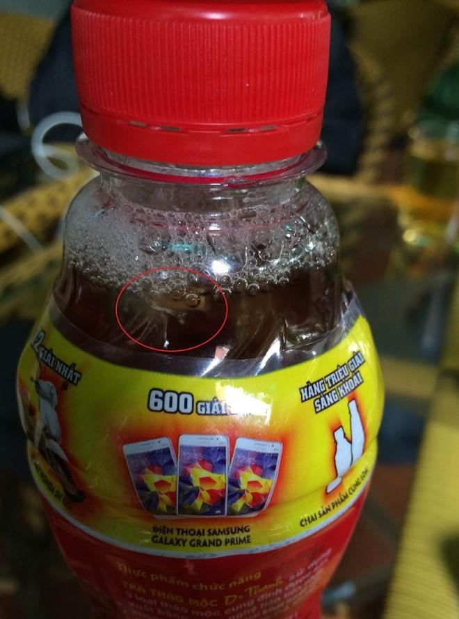 Phát hiện chai Dr. Thanh có vật lạ bên trong ở Đắk Lắk