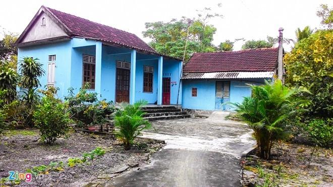 Ngôi nhà nơi Yên sinh ra và lớn lên ở Huế. Ảnh: Điền Quang.