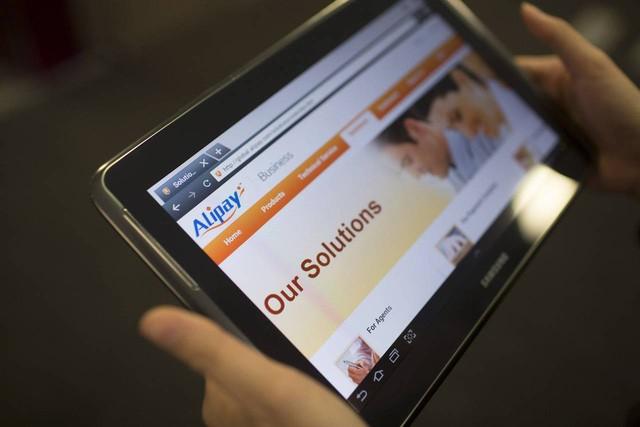 Dịch vụ thanh toán trực tuyến Alipay có hơn 400 triệu người sử dụng