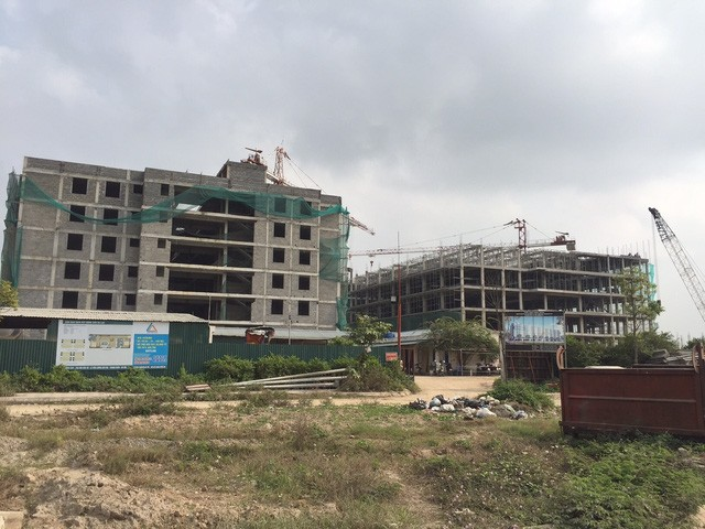 Cienco 5 đang triển khai thi công chung cư giá rẻ 10 triệu đồng/m2 tại Khu đô thị Thanh Hà để thu hút cư dân về ở