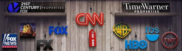 Time Warner đang sở hữu những kênh truyền hình nổi tiếng như CNN, TNT, TBS, NBA TV, Cartoon Network, HBO, cũng như Warner Bros