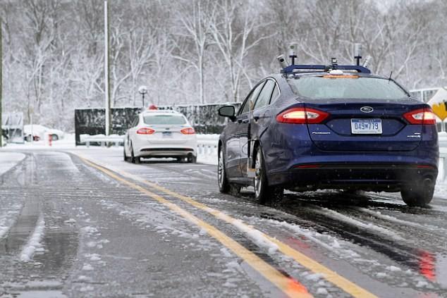 Ô tô nhận ra đường bị tuyết phủ kín nhờ bản đồ 3D và công nghệ LiDar