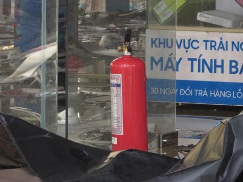 Thế Giới Di Động và những smart phone sót lại sau vụ cháy lớn ở Sài Gòn - ảnh 15