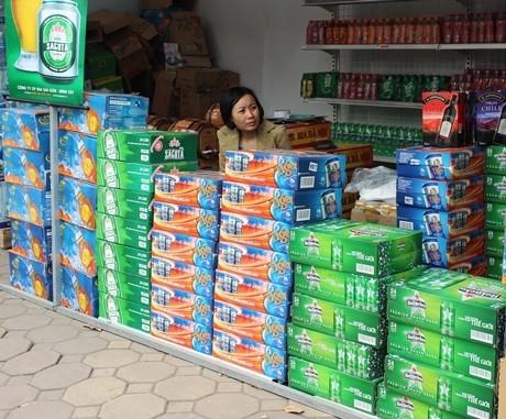 bia tết, bia tăng giá, loạn giá bia, thị trường bia Tết, đại lý bia, Tết