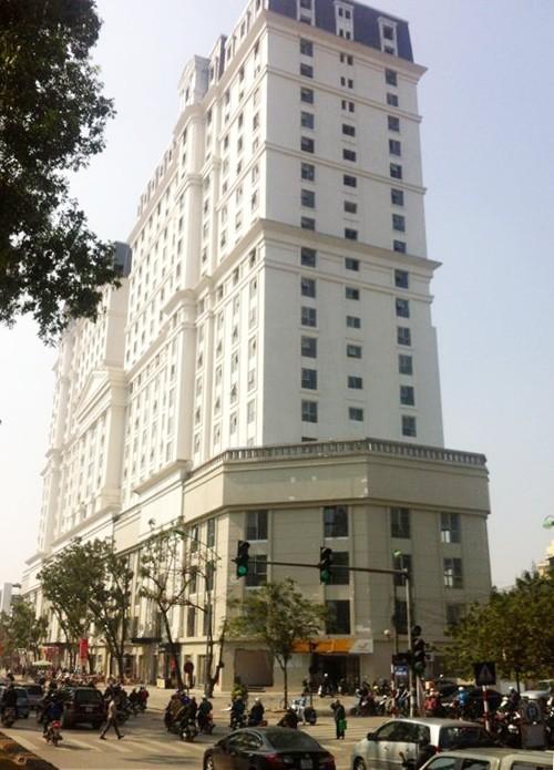 Không cấp sổ đỏ cho toàn bộ tòa nhà D2 Giảng Võ - Ảnh 1