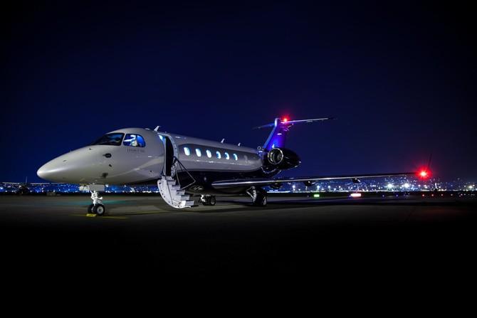 Các Embraer Legacy 500 vào phục vụ vào năm 2014 và hiện đang mang một giá Danh mục của 20 triệu $.