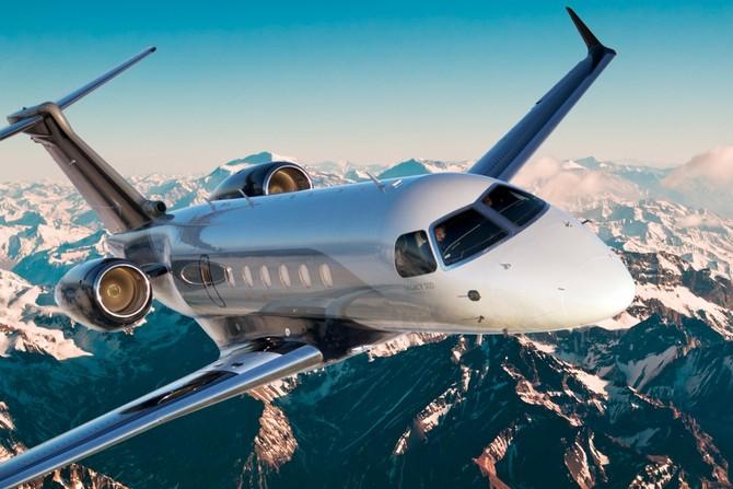 The Legacy 500 là máy bay phản lực doanh nghiệp vừa mới của công ty, với một phạm vi 3.600 dặm.