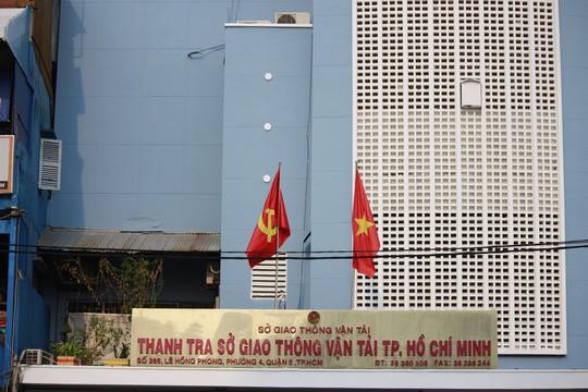 Thanh tra sở GTVT TP HCM nằm ngay trên đường Lê Hồng Phong nơi có nhiều tuyến xe khách lớn như Phương Trang, Thành Bưởi... từng hoạt động mạnh.