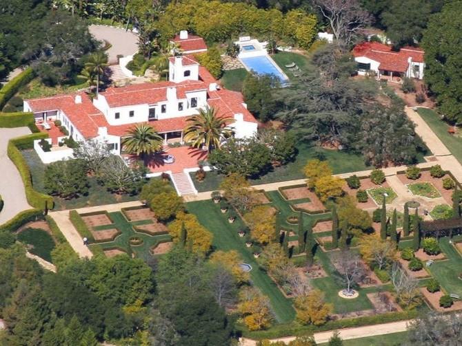 Eric Schmidt - Montecito Mansion