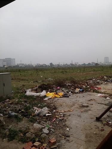 Sau khi chuyển nhượng một phần dự án thì vẫn còn một phần lớn diện tích Khu đô thị Dương Nội vẫn bị bỏ hoang