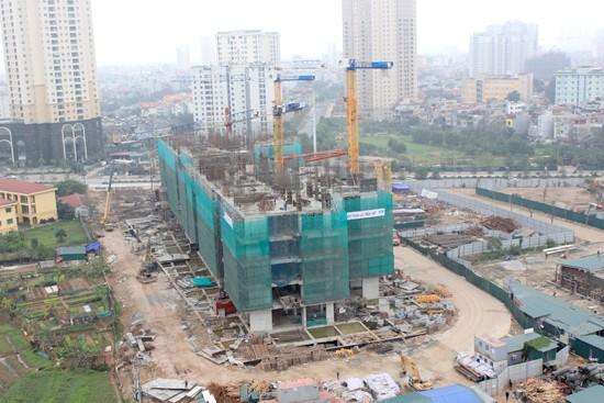 Những dự án BĐS đang xây dựng phải chịu giá thép cao