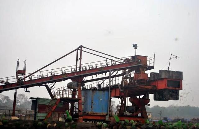 Còn đây là quang cảnh bên trong nhà máy, tại dự án mở rộng công ty giai đoạn 2