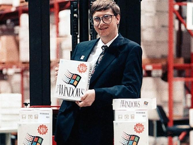 Bill Gates đã làm cho các giao dịch lớn đầu tiên của cuộc đời mình.
