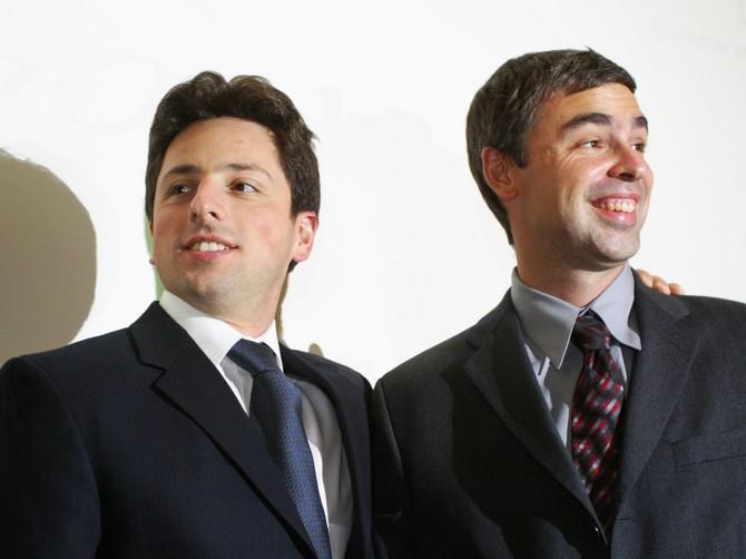 Larry Page và Sergey Brin thành lập Google.