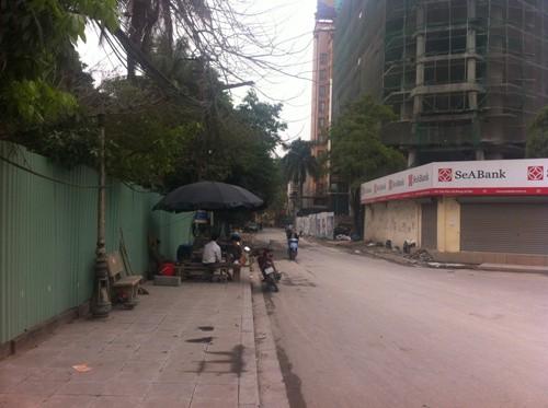 Đường Thanh Bình đi vào dự án khá nhỏ.