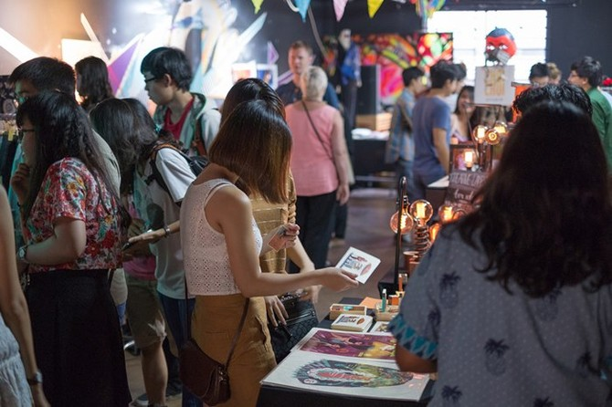 HCMC - Colourful Spring Art Market