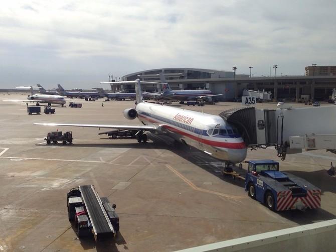 Số 10 Dallas / Fort Worth International Airport (DFW): 64.072.468 hành khách vào năm 2015