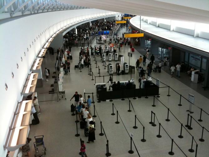 Số 15. John F. Kennedy International Airport (JFK): 56.827.154 hành khách vào năm 2015